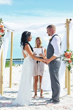 Beach Wedding Packages In SW Florida Tropical Aisle Markers For Weddings