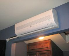Notes from building a chase for ductless air conditioner lines. We conceal this mini-split system air conditioner's line set as well as its condensate line in an interior wall. Drywall, Split System Air Conditioner, Interior Walls, Carpentry, Attic, Home Improvement, Home Appliances, Building, Home Decor