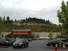 home depot store outview