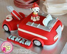 Tarta temática Patrulla Canina - Paw Patrol themed cake