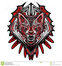 wolf-tattoo-style-haida-art-ornamental-fierce-portrait-made-as-62155433.jpg 1,300×1,390 pixeles