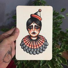 Desenho feito por Juliana Odett no estilo old school. #tatuagem #tattoo #tradicional #oldschool