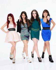 Ariana Grande, Victoria Justice, Liz Gillies & Daniella Monet