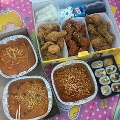 I Love Food, Good Food, Yummy Food, Bento, 17 Kpop, K Food, Food Goals, Cafe Food, Aesthetic Food