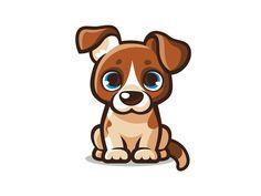 Knopik by MissMarpl on Dribbble Pug, Illustration, Labrador, Terrier, Simple, Pugs, Labradors, Illustrations, Terriers