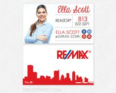 Remax business cards cheap online re max business cards remax business cards realtor business cards real estate agent business cards simple modern reheart Images