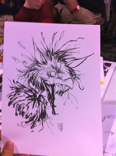 Skottie Young: Firey from Labyrinth Colouring, Coloring Books, Young Art, Skottie Young, The Dark Crystal, Aerial Yoga, Graphic Novels, Scottie, Character Illustration