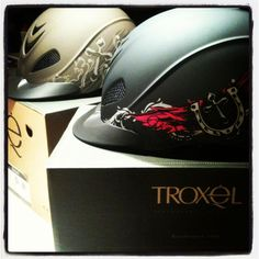 Check out what just arrived at Troxel. The new Rebel Western Helmet! http://www.troxelhelmets.com/products/rebel