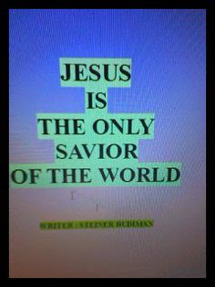 Angel Publisher: Book :  Jesus is the only Savior of the world.