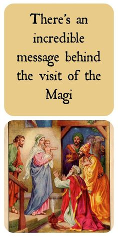 We often miss the story of hope contained in the visit of the Magi. It tells us something about God's character in seeking and saving the lost, even in pagan cultures. This 1-minute devotion explains. Rejoice in Jesus!