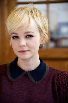 i wish i could pull off a hair cut like this...never