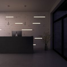KOVR | Hyde | Integrated led lighting | Minimalism | Interior design