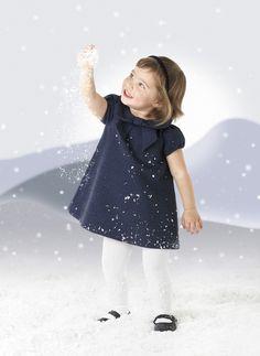 Colección Olas Marinas: Vestido bebé