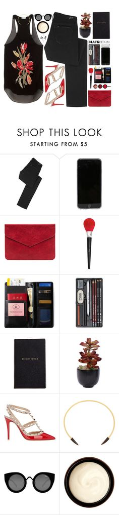 """""""when we were young"""" by fikey ❤ liked on Polyvore featuring Earnest Sewn, Dries Van Noten, Christian Dior, NARS Cosmetics, IDEA International, Guide London, Smythson, Lux-Art Silks, Valentino and Isabel Marant"""