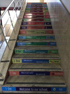 Merdiven yazısı