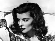 "Katharine Hepburn as Tracy Lord in ""The Philadelphia Story"" (1940)"