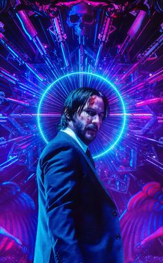 Keanu Reeves Neon John Wick Chapter 3 P arabellum Ultra HD Mobile Wallpaper. Mobile Wallpaper, 4k Wallpaper Android, Neon Wallpaper, Iphone Wallpapers, Wallpaper Quotes, Marvel Movie Posters, Movie Poster Art, Marvel Movies, John Wick Hd