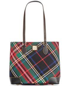 Dooney & Bourke Tartan Richmond Shopper | macys.com