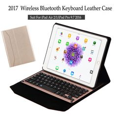 For iPad Air 2 Wireless Bluetooth Keyboard Case For iPad Air 2 Tablet Aluminum Alloy Detachable Flip Stand Cover+Stylus. Yesterday's price: US $32.53 (26.66 EUR). Today's price: US $32.53 (26.65 EUR). Discount: 38%.