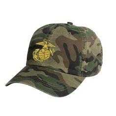 b1613d3c EGA Woodland Camo Hat #Marines #USMC #SemperFi #Veteran #VeteranAF Camo Hats