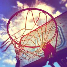 Basketball in the Sun :)