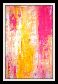 Growing Taller 2013 Acrylic Artwork Modern by T30Gallery on Etsy