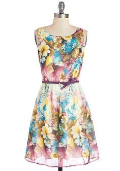 Pottery Painting Party Dress in Pastel. Need some new pieces for your apartment?  #modcloth