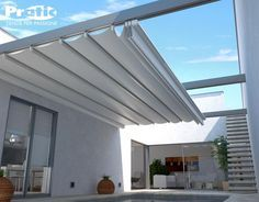Retractable Canopies for decks | Window Awnings Pergola Solharo Variette Canopies Outrigger