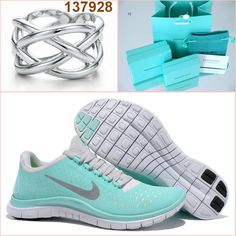 Tiffany co Nike Free 3.0 v4 and Rings Cool...I'm so obsessed with these shoes