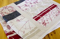 I have this kit, I will make it soon and not be scared to cut into the stunning fabric in case I go wrong.