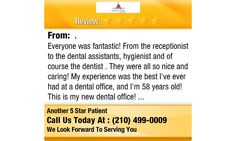 Everyone was fantastic! From the receptionist to the dental assistants,...