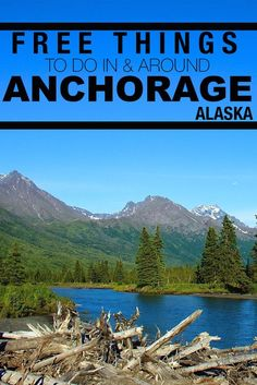 30 FREE things to do in & around Anchorage, Alaska! Moving To Alaska, Alaska Travel, Travel Usa, Alaska Trip, Seward Alaska, Anchorage Alaska, Vacation Trips, Dream Vacations, Vacation Places