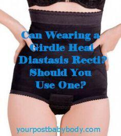 Great article for healing Diastasis Recti