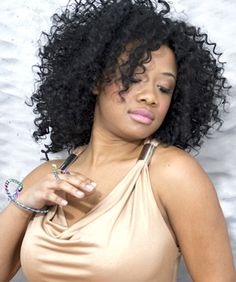 Cute Curly Weave Hairstyles For Black Women ~ http://wowhairstyle.com/curly-weave-hairstyles-for-black-women/