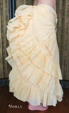 Vanilla 25 Yard Voila Skirt  You can order yours here:  http://www.paintedladyemporium.com/Shop-Here.html