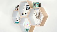 DIY - Como Fazer Prateleiras Hexagonais