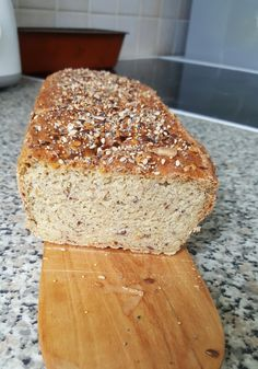 Pain sans gluten au millet, maïs et sarrasin