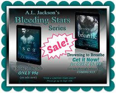 NEW RELEASE, EXCERPT & $50 GIVEAWAY: Drowning To Breathe (Bleeding Stars, #2) by A.L. Jackson - #RockstarAlert - On Sale Today Only! - iScream Books