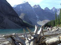 Near Lake Louise, Alberta