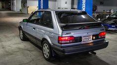 Mazda 323 GTX Turbo Sedan - 1988 Mazda Familia, Japanese Sports Cars, Cars And Motorcycles, Cool Cars, Old School, Dream Cars, Classic Cars, Automobile, Vehicles