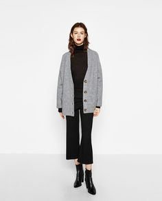 POCKET CARDIGAN-View all-KNITWEAR-WOMAN | ZARA United States