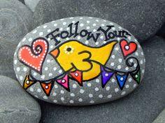 ~Follow Your Heart II / Pintado Piedra / Sandi Pike Foundas / Cape Cod~