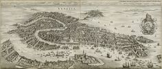 This Day in History: Mar 25, 421: Venice is founded at twelve o'clock noon http://dingeengoete.blogspot.com/ http://historic-cities.huji.ac.il/italy/venice/maps/merian_1650_venice_b.jpg