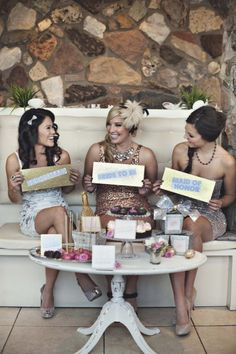 REALLY cute idea for your bachelorette party!