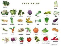 Forum | Learn English | Vocabulary: Vegetables | Fluent Land