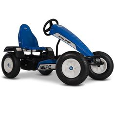 Berg USA Extra Sport BFR 3 Pedal Go Kart Riding Toy - Ride for hours with the Berg USA Extra Sport BFR 3 Pedal Go Kart Riding Toy ; ball-bearing wheels roll so smoothly that you can pedal on and on without. Sports Games For Kids, Sports Toys, Trampolines, Mario Kart, Berg Go Kart, The Sun Today, E Motor, Kids Ride On, Ride On Toys