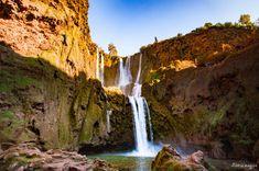 Ouzoud. Sur la route de Ouarzazate ou des cascades d'Ouzoud, road trip dans le sud du Maroc. Marrakesh, Les Cascades, Excursion, Filming Locations, The World's Greatest, Tourism, Waterfall, Wanderlust, Photos