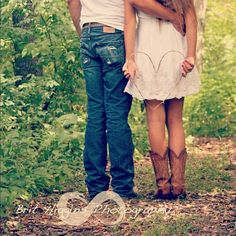 Rustic Farmhouse Wedding, Cowboy Boots, Infinity and Beyond Country Engagement, Engagement Couple, Engagement Pictures, Engagement Ideas, Country Couples, Country Girls, Cute Couples, Couple Photography, Engagement Photography