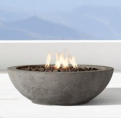 Ixtapa Round Fire Table | RH