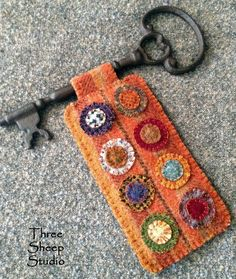 Skeleton Keys by Rose Clay at ThreeSheepStudio.com